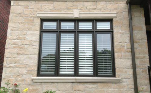 Modern 8 panel window
