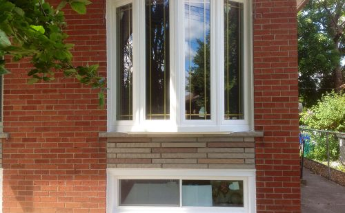 custom bow window in Vaughan