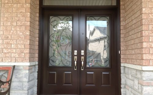 Newly installed double Entrance door in Toronto, On
