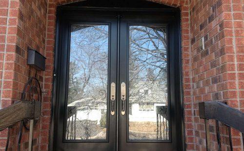double front door replacement
