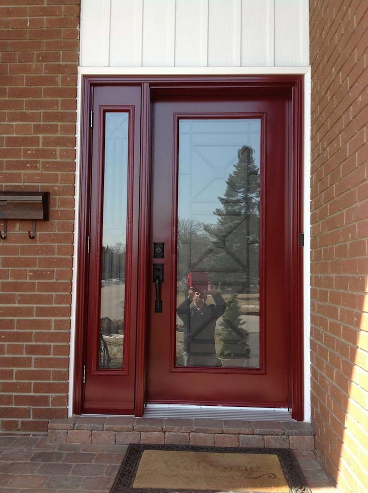 front door red color