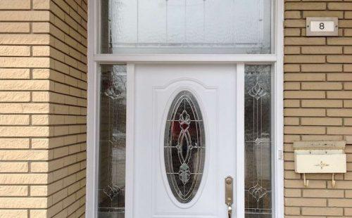 Front entry door replaced in Vaughan