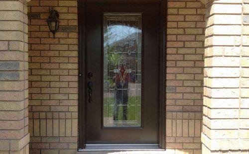 full glass front door