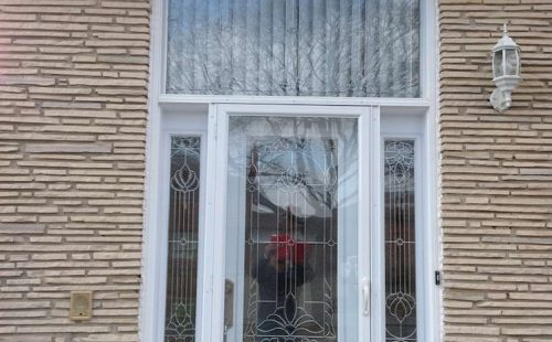 white front glass door replacement