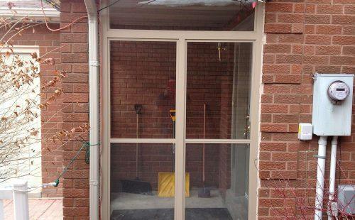 simple patio enclosure