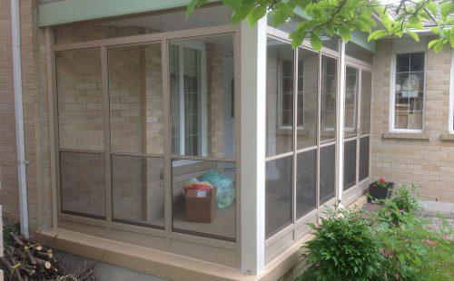 veranda porch enclosure