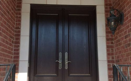 wooden entry door Vaughan