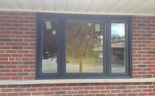 3 panel window painted black