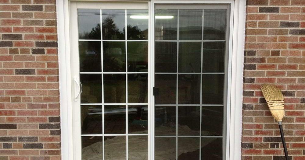 double patio door
