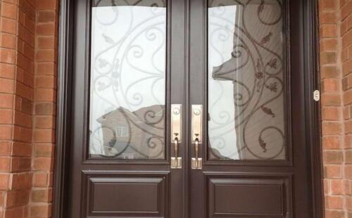 Photo of Brown Double Door