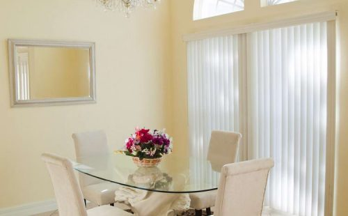 Modern Dining Room door skylight