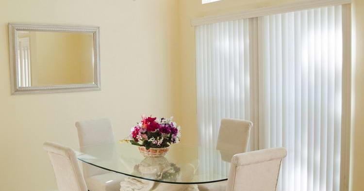 Modern Dining Room door skylight