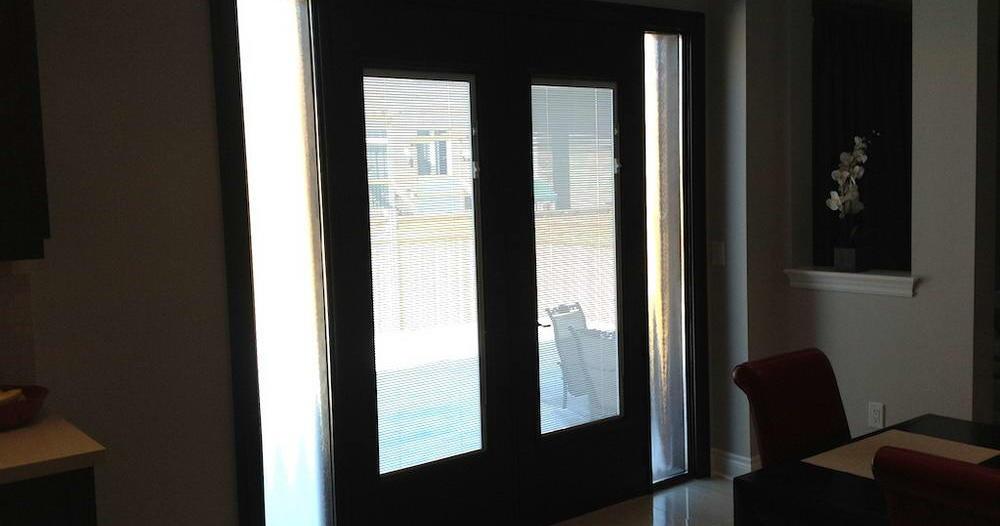 modern patio door