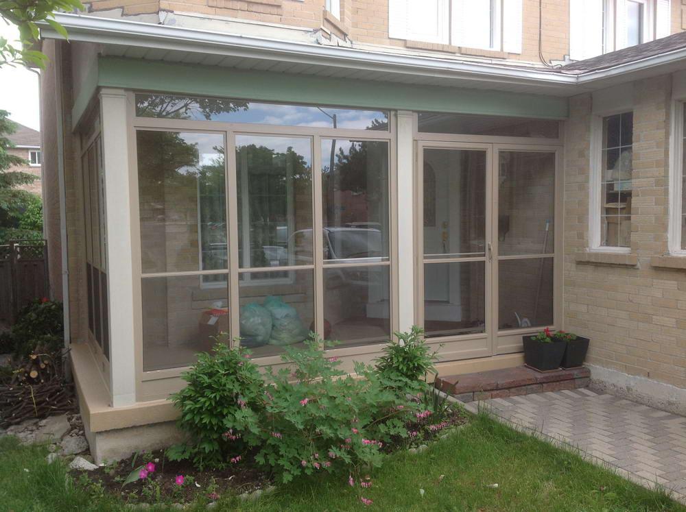 wide porch enclosure