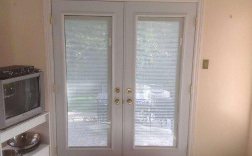 patio door inside view