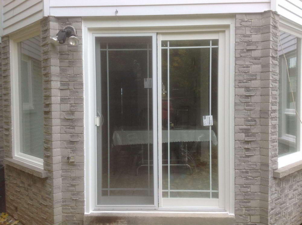 patio door front view