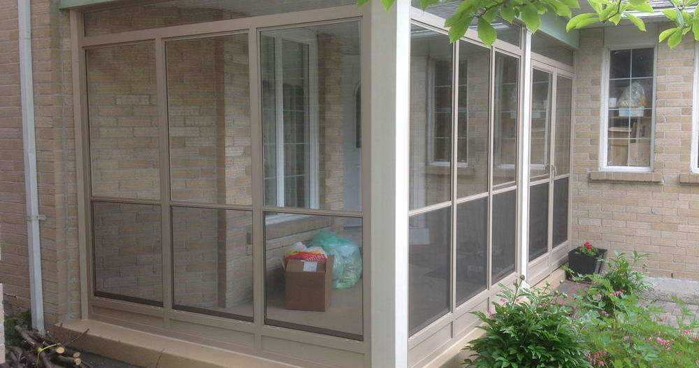 veranda porch enclosure