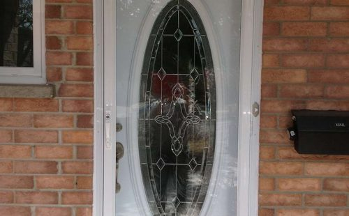 white front door replacement vaughan
