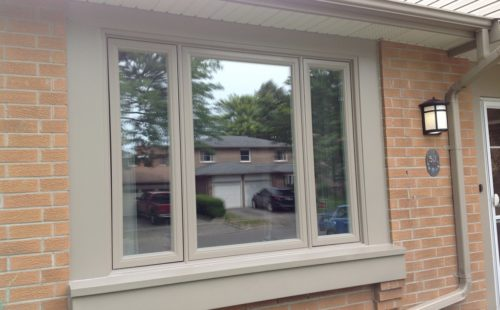 triple glass window replacement