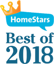 Homestars best of 2018 logo