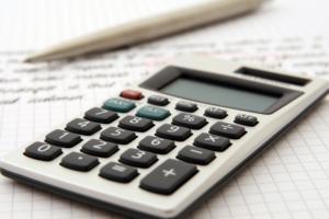 Photo of calculator