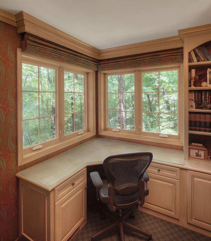 image of corner window design