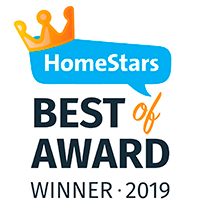 Homestars best award 2019 logo