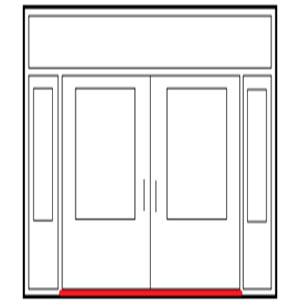 Photo of Insulated Threshold