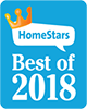 logo of Best of 2018 Homestars