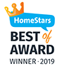Logo of Best of 2019 Homestars