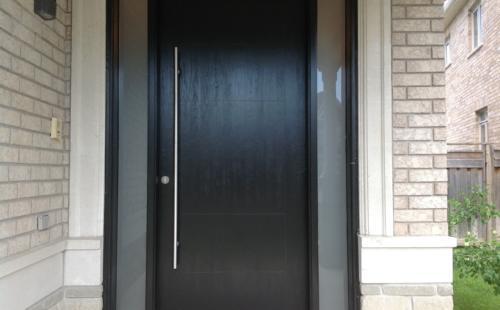 wooden front doors